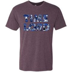 T-Shirts Vintage Purple / Small Timelord Men's Triblend T-Shirt