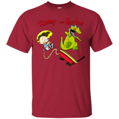 T-Shirts Cardinal / S Tommy and Reptar T-Shirt