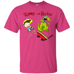 T-Shirts Heliconia / S Tommy and Reptar T-Shirt