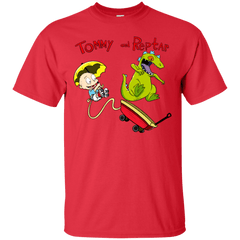 T-Shirts Red / S Tommy and Reptar T-Shirt