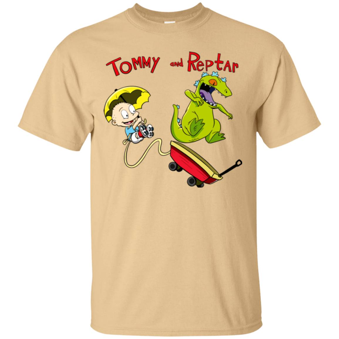 T-Shirts Vegas Gold / S Tommy and Reptar T-Shirt