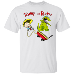 T-Shirts White / S Tommy and Reptar T-Shirt
