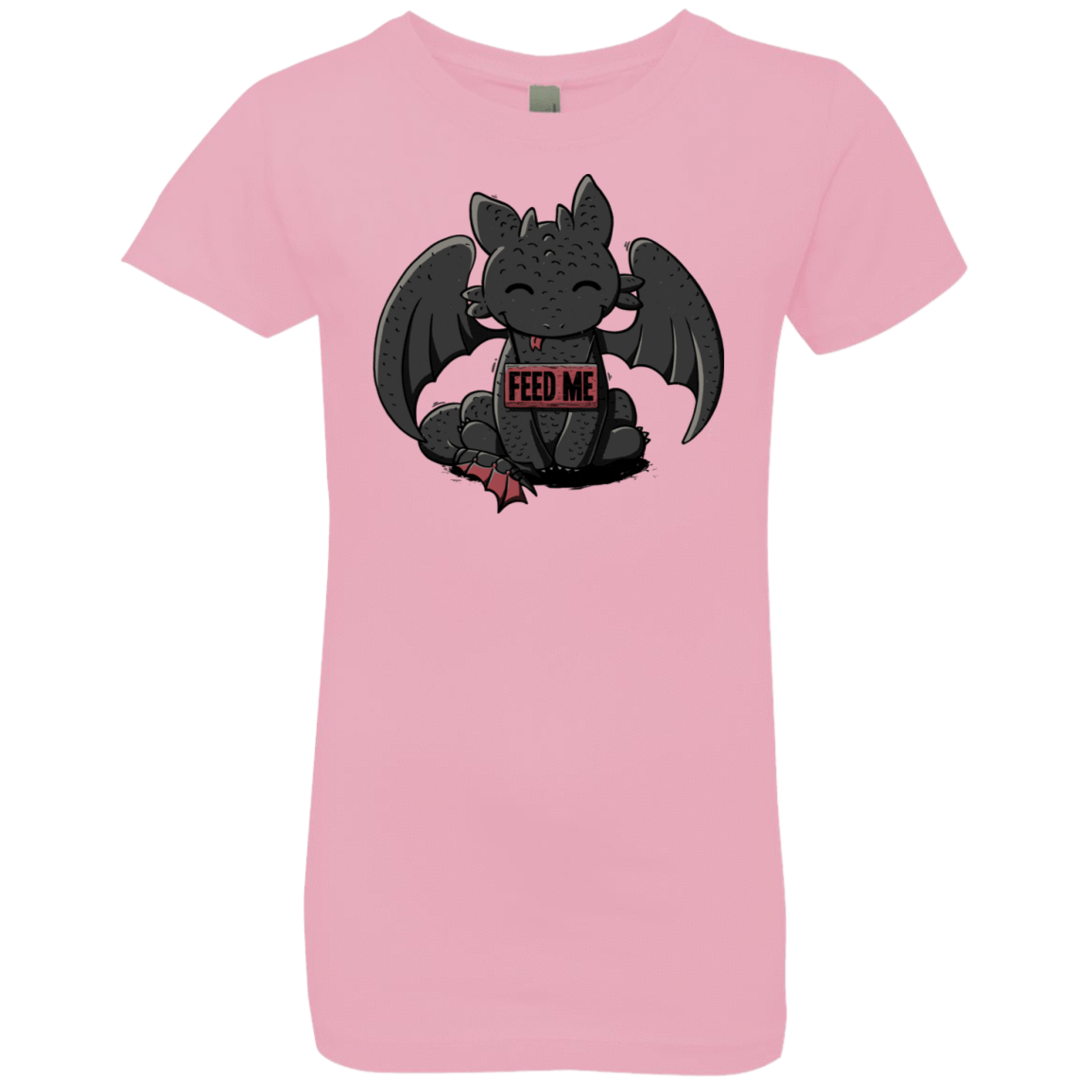 Toothless Feed Me Girls Premium T-Shirt