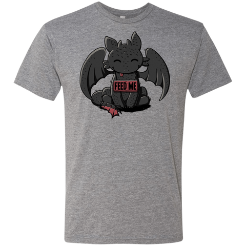 Toothless Feed Me Men's Triblend T-Shirt
