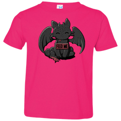 Toothless Feed Me Toddler Premium T-Shirt