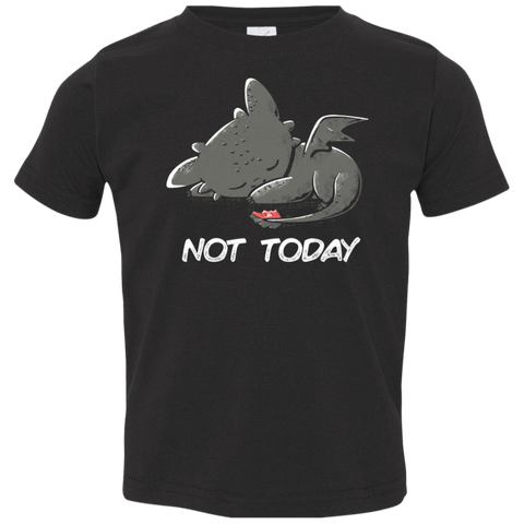 Toothless Not Today Toddler Premium T-Shirt
