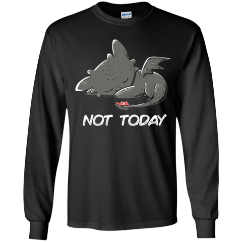 Toothless Not Today Youth Long Sleeve T-Shirt