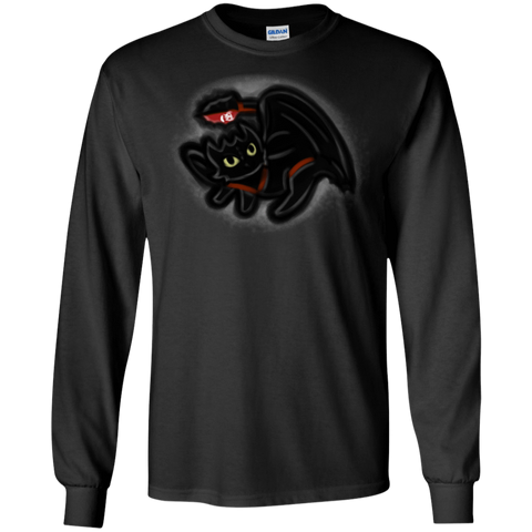 Toothless Simba Men's Long Sleeve T-Shirt