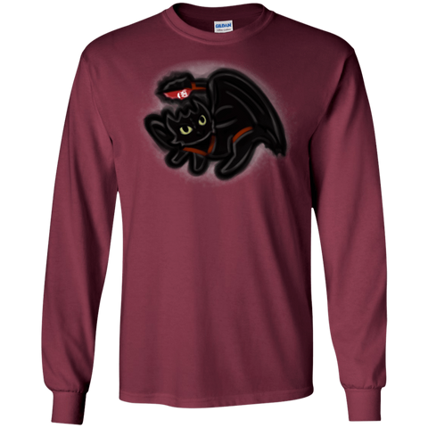 T-Shirts Maroon / S Toothless Simba Men's Long Sleeve T-Shirt