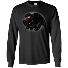 T-Shirts Black / YS Toothless Simba Youth Long Sleeve T-Shirt