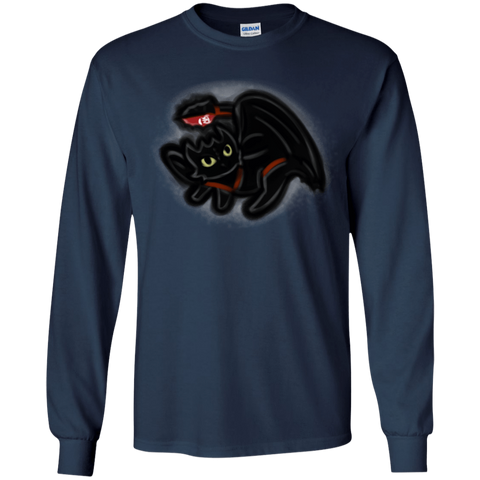 Toothless Simba Youth Long Sleeve T-Shirt