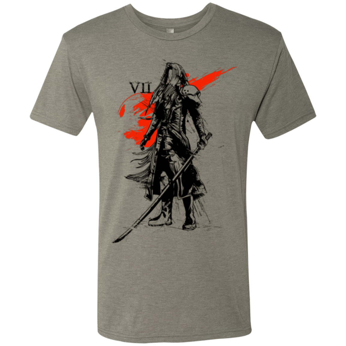 T-Shirts Venetian Grey / Small Traditional exsoldier Men's Triblend T-Shirt