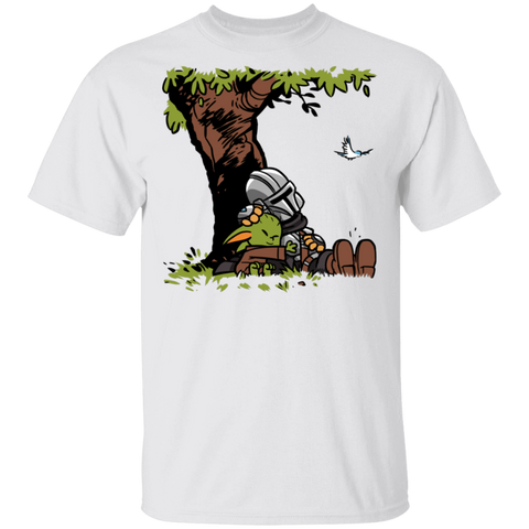 Tree Yoda Calvin T-Shirt