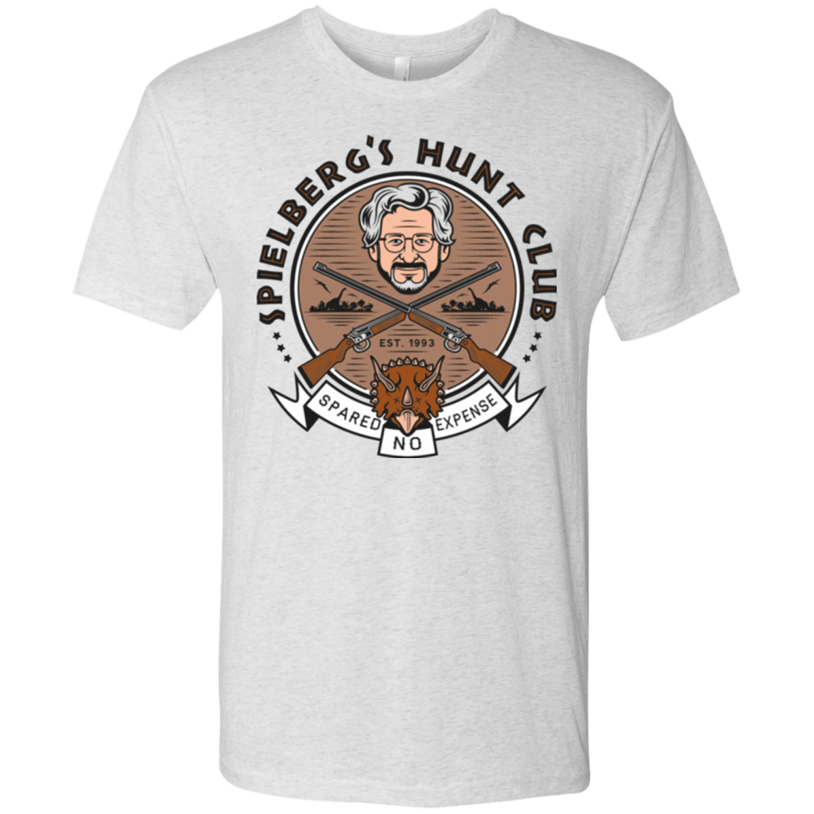 Triceratops Hunt Club Men's Triblend T-Shirt