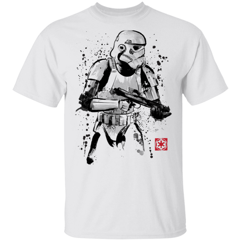 Trooper Sumi-E T-Shirt