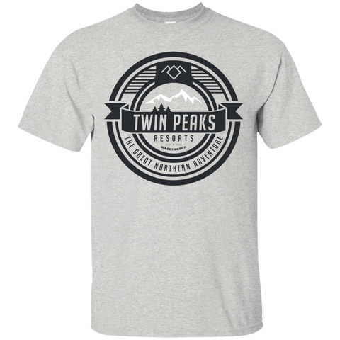 T-Shirts Ash / Small Twin Peaks Resorts T-Shirt