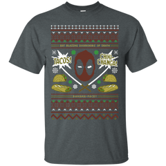 T-Shirts Dark Heather / Small Ugly Deadpool T-Shirt