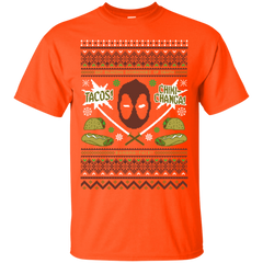T-Shirts Orange / Small Ugly Deadpool T-Shirt