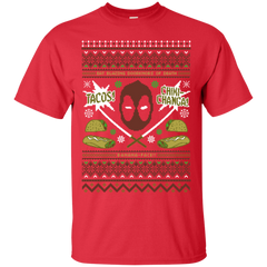 T-Shirts Red / Small Ugly Deadpool T-Shirt
