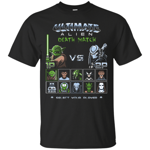 T-Shirts Black / Small Ultimate alien deathmatch T-Shirt