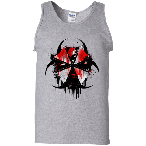 T-Shirts Sport Grey / S Umbrella Corp Men's Tank Top