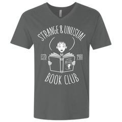 T-Shirts Heavy Metal / X-Small Unusual Book Club Men's Premium V-Neck