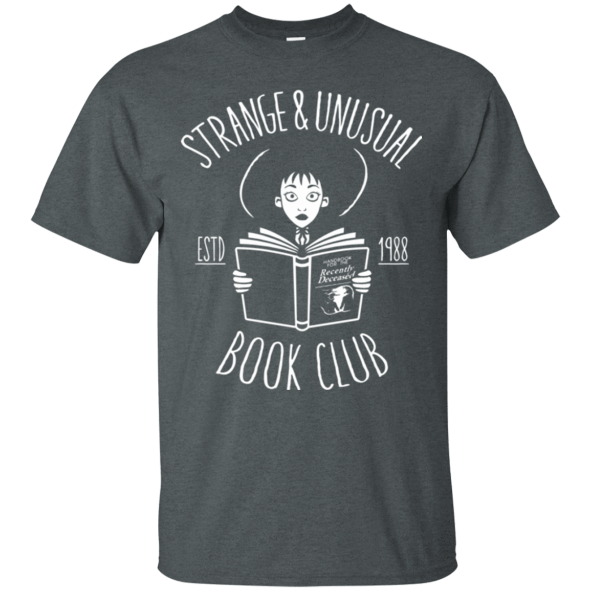T-Shirts Dark Heather / Small Unusual Book Club T-Shirt