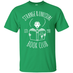T-Shirts Irish Green / Small Unusual Book Club T-Shirt