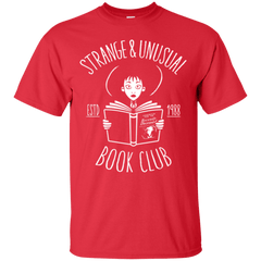 T-Shirts Red / Small Unusual Book Club T-Shirt