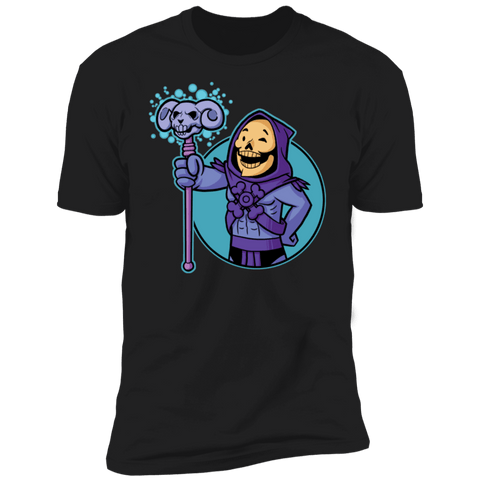 T-Shirts Black / S Vault Skeletor Men's Premium T-Shirt