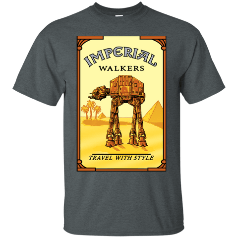 T-Shirts Dark Heather / Small Walk Like An Egyptian T-Shirt