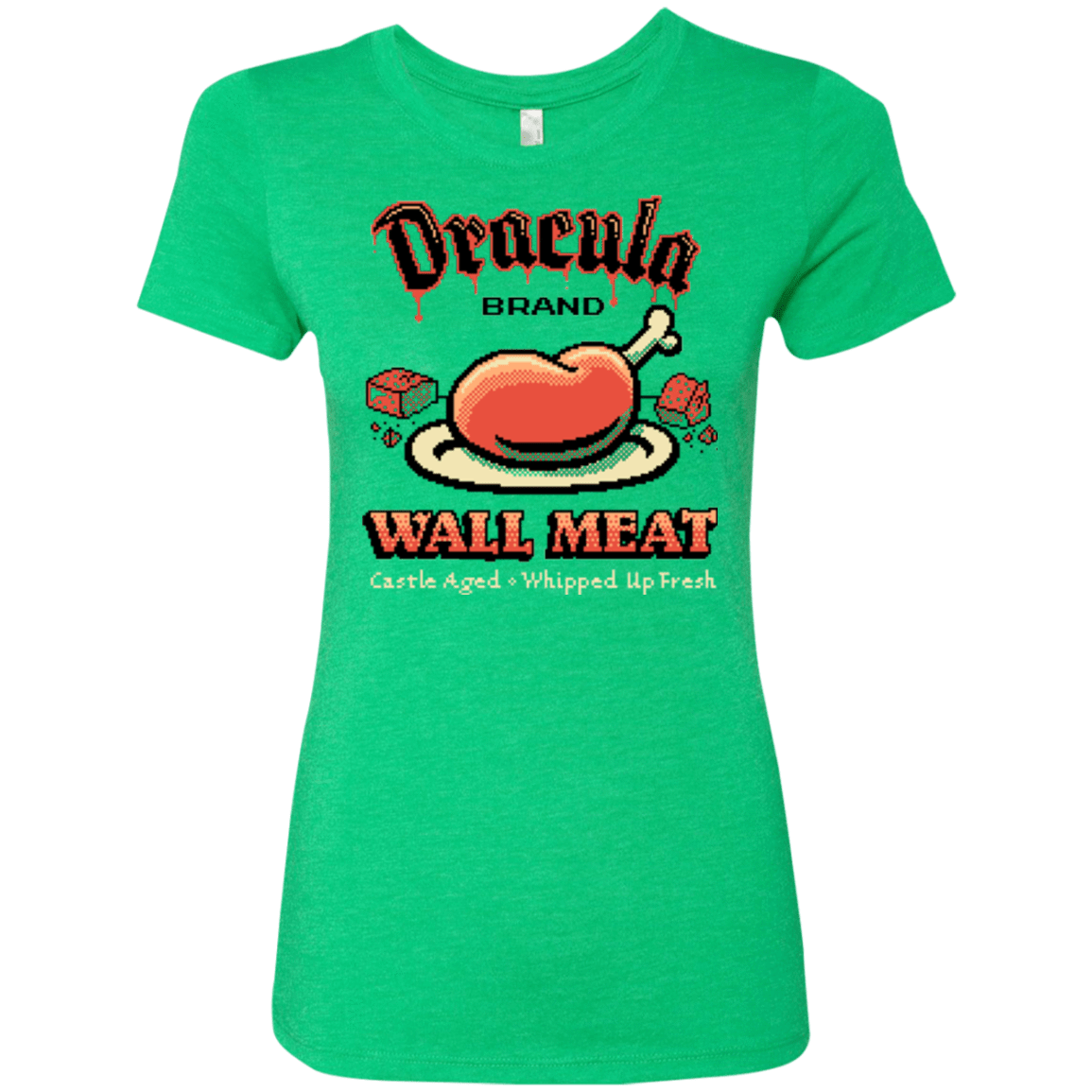 T-Shirts Envy / Small Wall Meat Women's Triblend T-Shirt