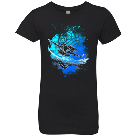 Water Bender Soul Katara Girls Premium T-Shirt