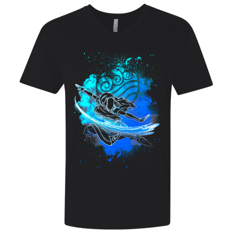 Water Bender Soul Katara Men's Premium V-Neck