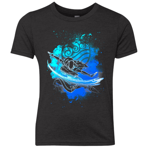 Water Bender Soul Katara Youth Triblend T-Shirt
