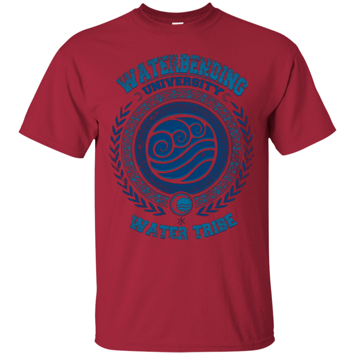 T-Shirts Cardinal / Small Waterbending University T-Shirt