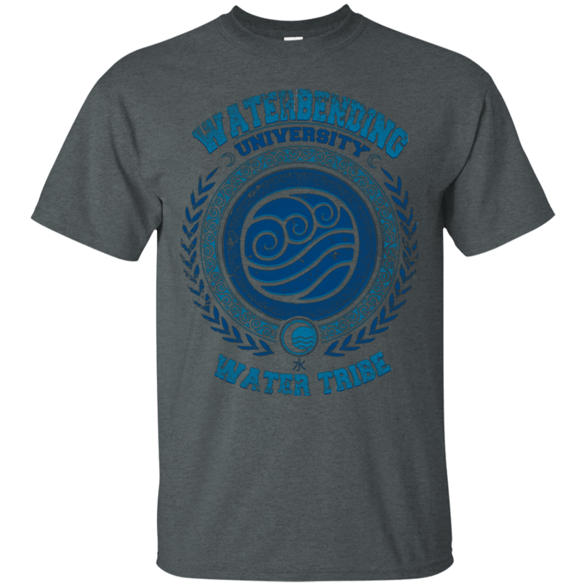T-Shirts Dark Heather / Small Waterbending University T-Shirt
