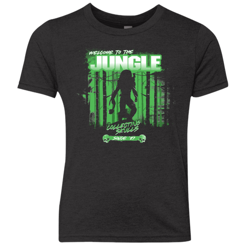 Welcome to Jungle Youth Triblend T-Shirt
