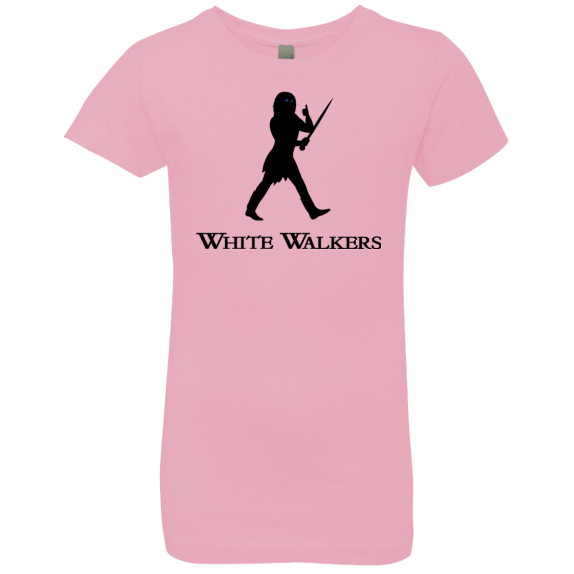 T-Shirts Light Pink / YXS White walkers Girls Premium T-Shirt