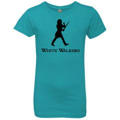 T-Shirts Tahiti Blue / YXS White walkers Girls Premium T-Shirt