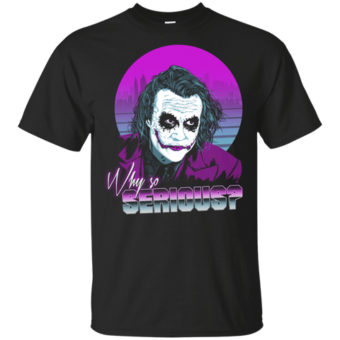 T-Shirts Black / S Why so Serious T-Shirt