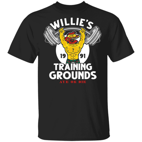 T-Shirts Black / S Willie's Training Grounds T-Shirt