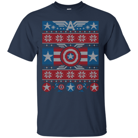 T-Shirts Navy / Small Winter Soldier T-Shirt