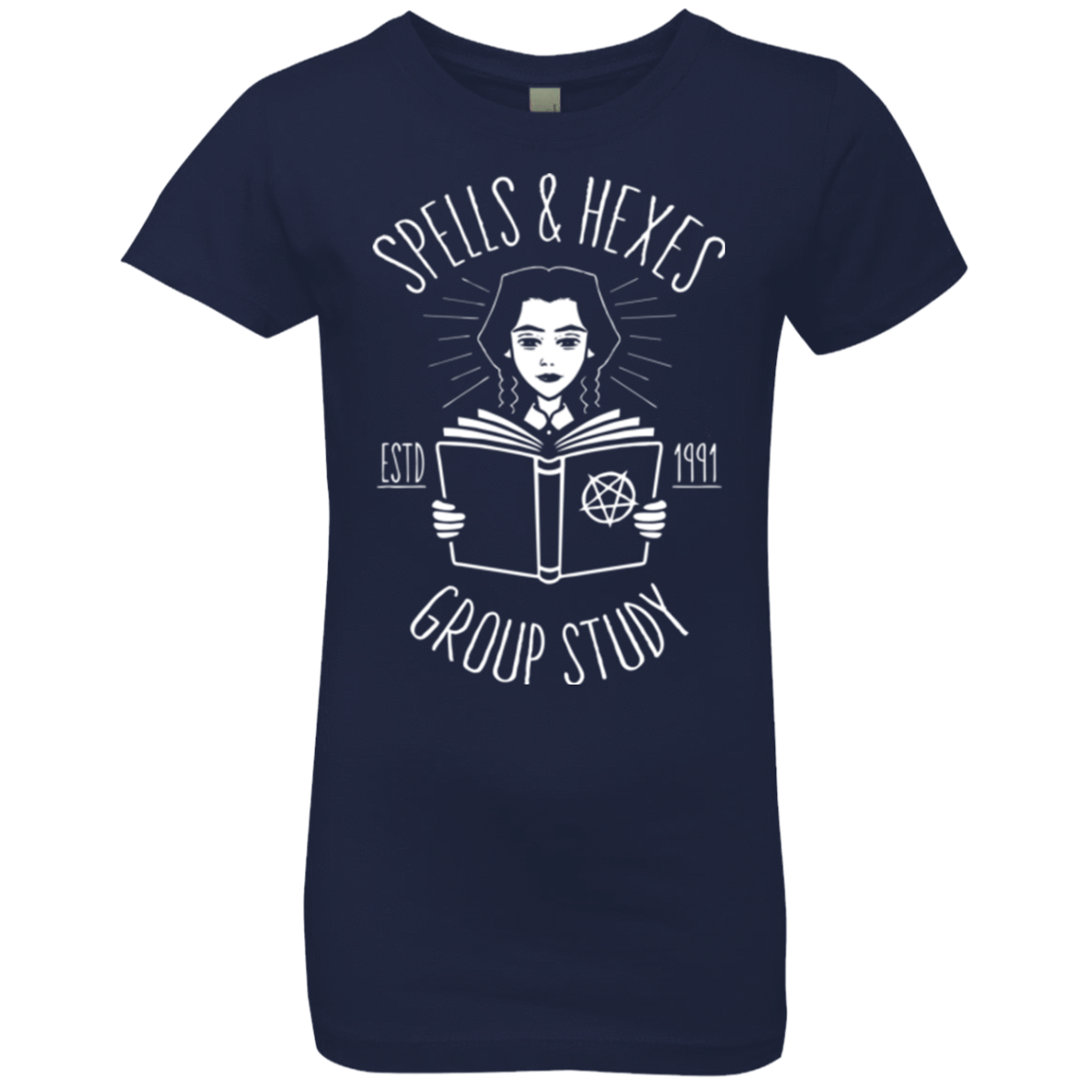 Witchcraft Study Girls Premium T-Shirt