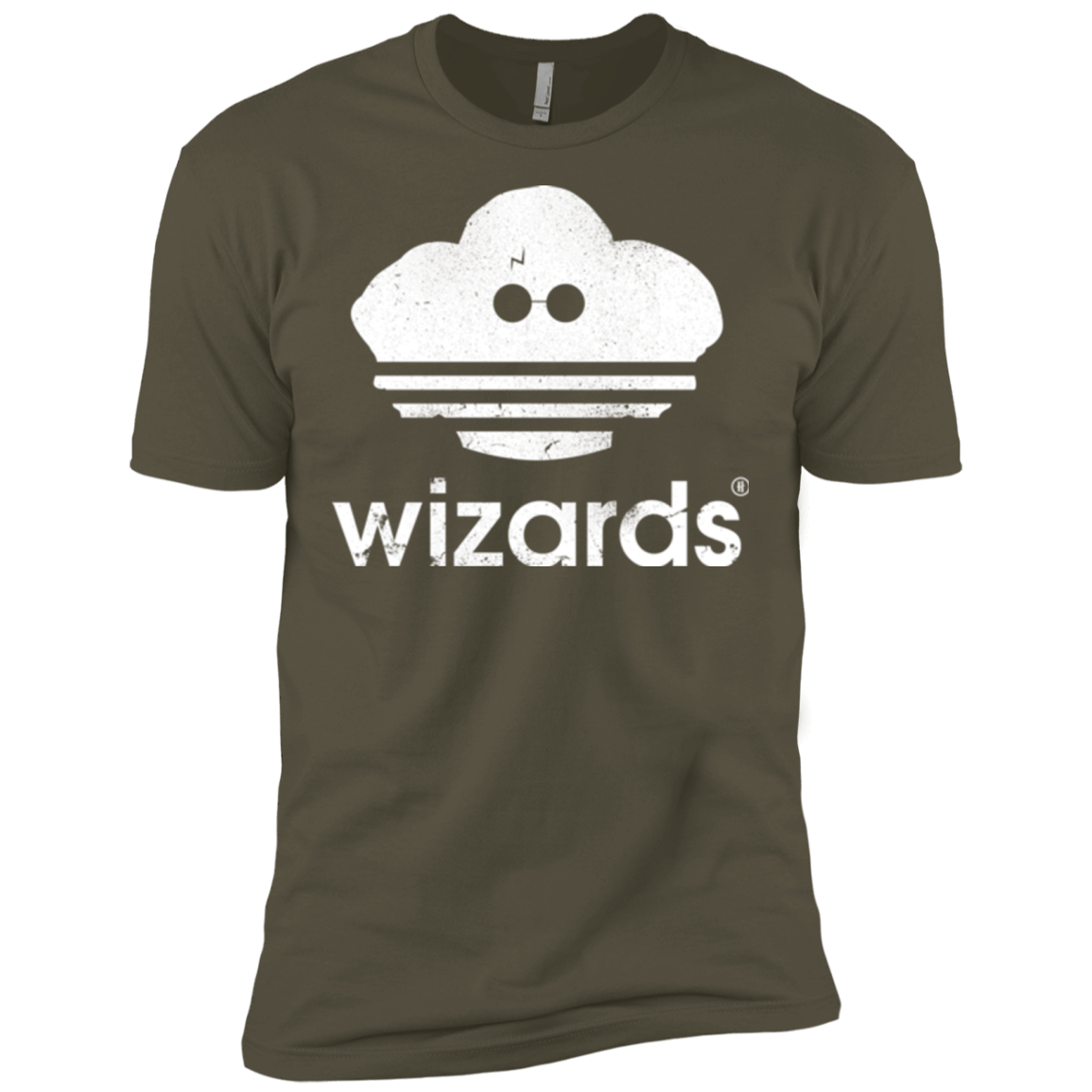 T-Shirts Military Green / X-Small Wizards Men's Premium T-Shirt
