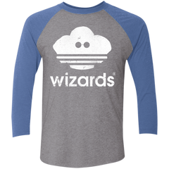 T-Shirts Premium Heather/ Vintage Royal / X-Small Wizards Men's Triblend 3/4 Sleeve
