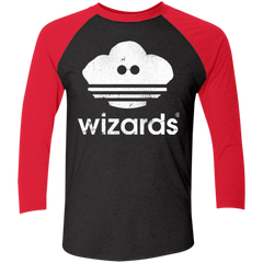 T-Shirts Vintage Black/Vintage Red / X-Small Wizards Men's Triblend 3/4 Sleeve