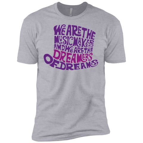 T-Shirts Heather Grey / X-Small Wonka Purple Men's Premium T-Shirt