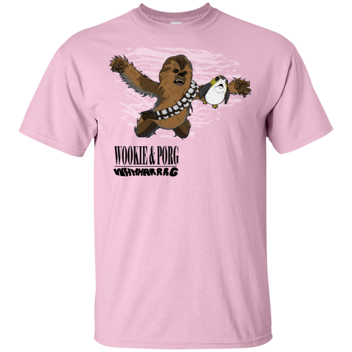 Wookie and Porg T-Shirt
