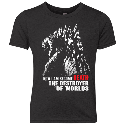 World Destroyer Youth Triblend T-Shirt